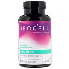 Neocell, ग्लो मैट्रिक्स (Glow Matrix), एडवांस्ड स्किन हाइड्रेटर, 90 कैप्सूल