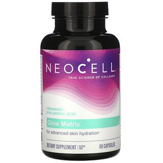 Neocell, GlowMatrix, Céramides, Acide hyaluronique, 90capsules