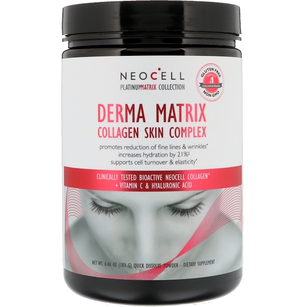 Neocell, Derma Matrix, Collagen Skin Complex, 6.46 oz (183 g)