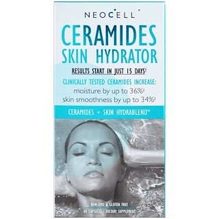 Neocell, Ceramides Skin Hydrator, 60 Capsules