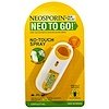 Neosporin, + Pain Relief, Neo To Go!, First Aid Antiseptic/Pain Relieving Spray, 0.26 fl oz (7.7 ml)