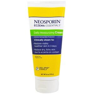 Неоспорин, Eczema Essentials, Daily Moisturizing Cream, 6 oz (170 g) отзывы