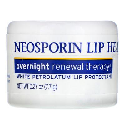 Обновляющая ночная терапия, бальзам для губ из белого вазелина, 0,27 унции (7,7 г) недорого
