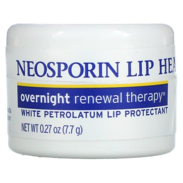 Overnight Renewal Therapy, White Petrolatum Lip Protectant, 0.27 oz (7.7 g)