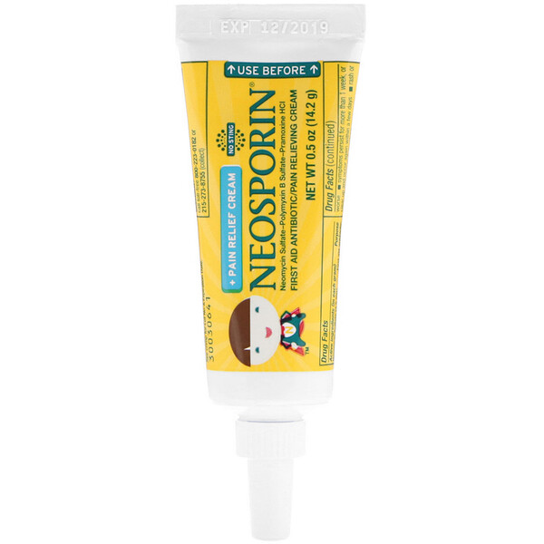 Dual Action Cream, Pain Relief Cream, For Kids Ages 2 +, 0.5 oz (14.2 g)