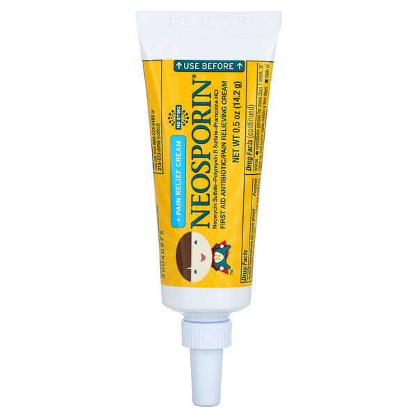 +Pain Relief Cream, For Kids Ages 2+, 0.5 oz (14.2 g)