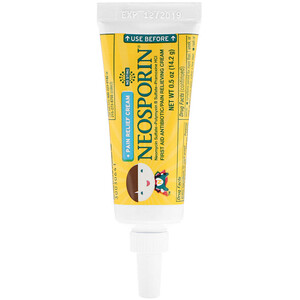 Неоспорин, Dual Action Cream, Pain Relief Cream, For Kids Ages 2 +, 0.5 oz (14.2 g) отзывы покупателей