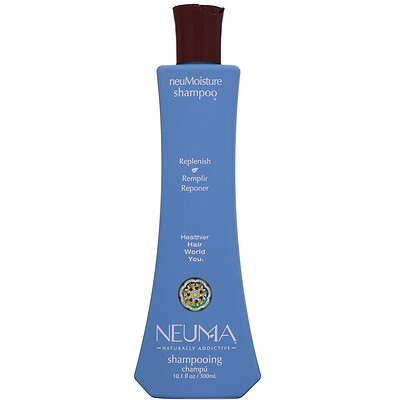 Купить Neuma neuMoisture Shampoo, восстанавливающий шампунь, 300мл (10, 1жидк.унции)