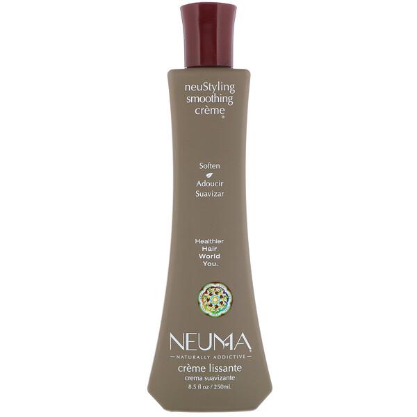 Neuma, neuStyling Smoothing Creme®(neuスタイリングスムージングクリーム)、250 ml(8.5 fl oz)
