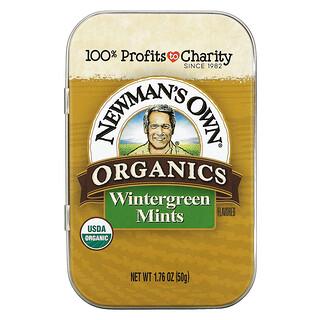 Newman's Own Organics, Organics, Wintergreen Mints, 1.76 oz (50 g)