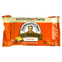 Newman's Own Organics, Fig Newmans, Fruit Filled Cookies, Low Fat, 10 oz (283 g)