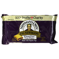 Newman's Own Organics, Fig Newmans, Fruit Filled Cookies, Wheat Free, Dairy Free, 10 oz (283 g)