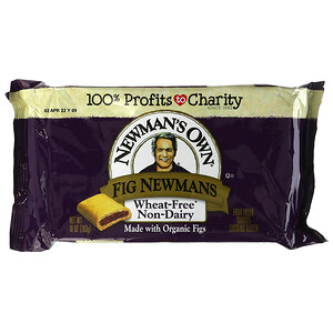Newman's Own Organics, Fig Newmans, Fruit Filled Cookies, Wheat Free, Dairy Free, 10 oz (283 g)'