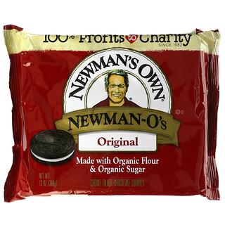 Newman's Own Organics, Newman-O's,奶油夹心巧克力饼干,原味,13 盎司(368 克)