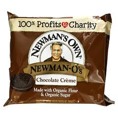 Newman's Own Organics, Newman-O's,奶油夾心巧克力餅乾,巧克力,13 盎司(368 克)