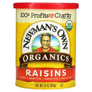 Newman's Own Organics, Organics, Raisins, 15 oz (425 g)