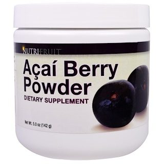 Nutri-Fruit, Acai Berry Powder, 5 oz (142 g)