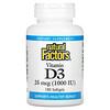 Natural Factors, Vitamin D3, 25 mcg (1,000 IU), 180 Softgels
