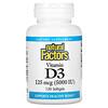 Natural Factors, Vitamin D3, 125 mcg (5,000 IU), 120 Softgels