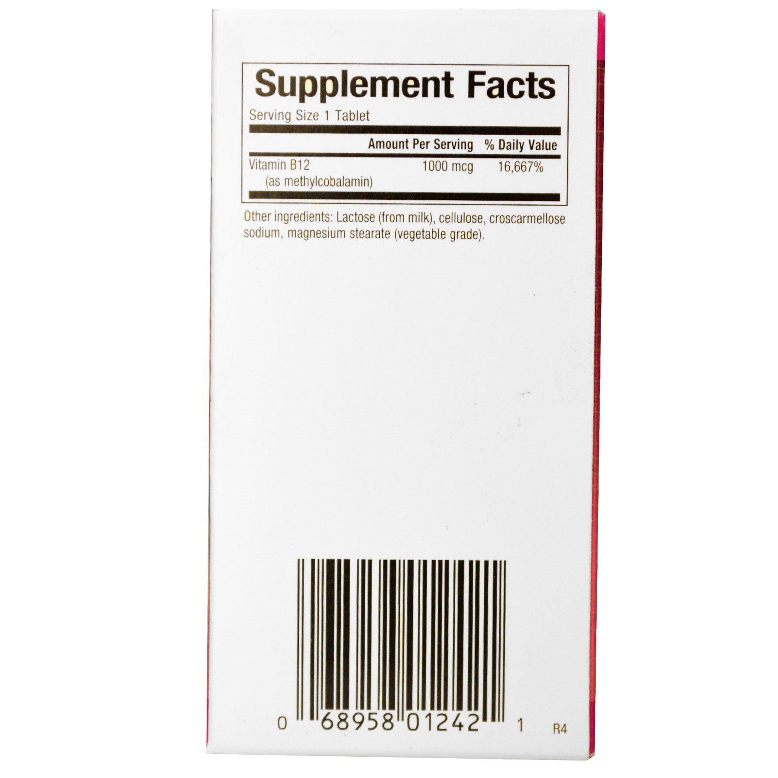 Natural Factors B Methylcobalamin Reviews