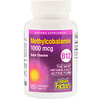 Natural Factors, B12, Methylcobalamin, 1,000 mcg, 180 Chewable Tablets