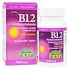 Natural Factors, B12, метилкобаламин, 5000 мкг, 60 жевательных таблеток