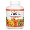 Natural Factors, Fruit-Flavor Chew Vitamin C, Tangy Orange, 500 mg, 90 Chewable Wafers
