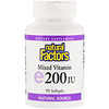 Natural Factors, Mixed Vitamin E, 200 IU, 90 Softgels