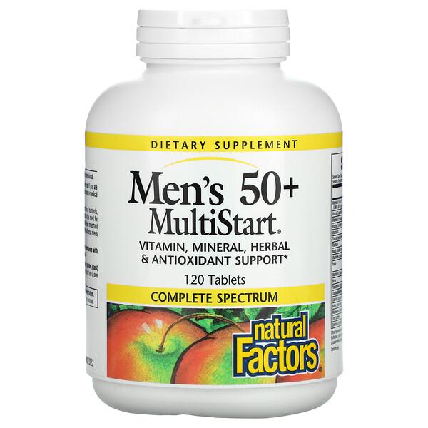 Men's 50+ MultiStart, 120 Tablets