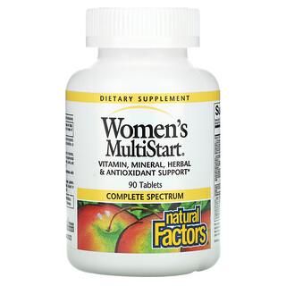 Natural Factors, Women's MultiStart, 90 Tablets