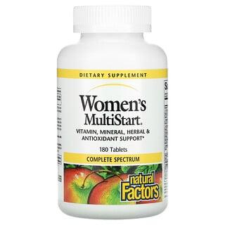 Natural Factors, Women's MultiStart, 180 Tablets