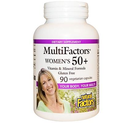 MultiFactors, Women's 50+, 90 Vegetarian Capsules недорого