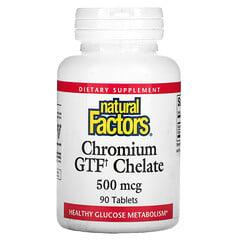 Natural Factors, 鉻 GTF 螯合物,500 微克,90 片