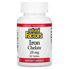 Natural Factors, Комплекс железа, 25 мг, 90 таблеток