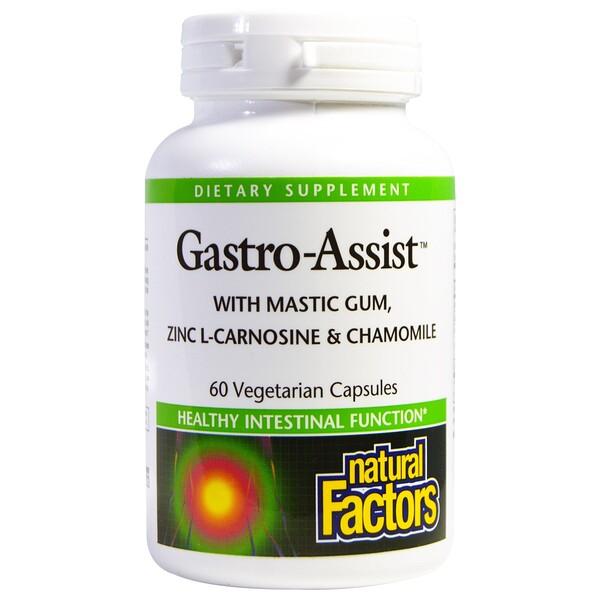 Natural Factors, Gastro-Assist, 60 Veggie Caps (Discontinued Item)