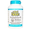 Natural Factors, Acidophilus & Bifidus, 5 Billion Active Cells, 180 Capsules (Ice)  (Discontinued Item)