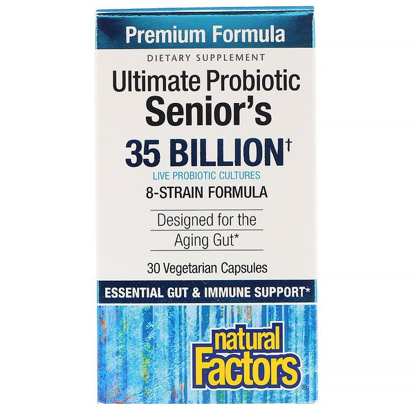 Ultimate Probiotic, Senior's, 35 Billion CFU, 30 Vegetarian Capsules
