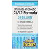 Natural Factors, Ultimate Probiotic, 24/12 포뮬러, 240억 CFU, 베지 캡슐 60정