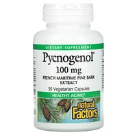 Natural Factors, Pycnogenol, 100 mg, 30 Vegetarian Capsules
