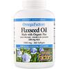 Natural Factors, Omega Factors, льняное масло, 1000 мг, 360 капсул