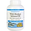 Natural Factors, Omega Factors, Wild Alaskan Salmon Oil, 1,000 mg, 180 Softgels