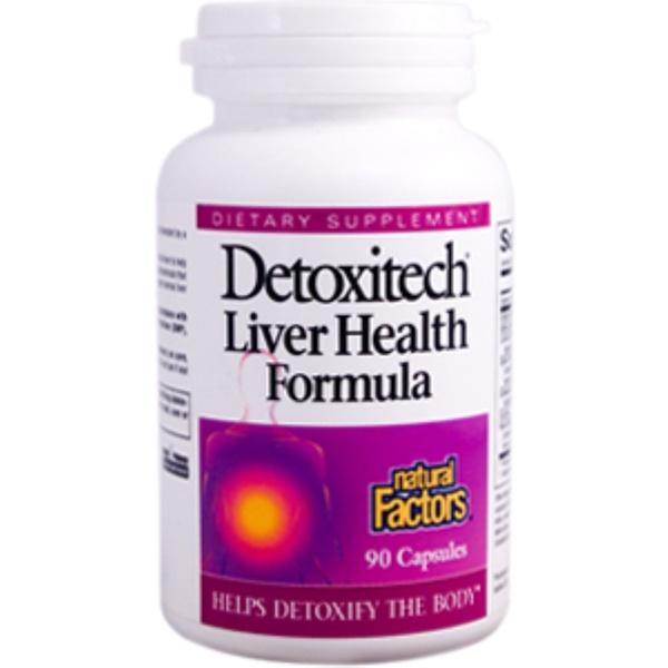 Natural Factors, Detoxitech Liver Health Formula, 90 Capsules (Discontinued Item)