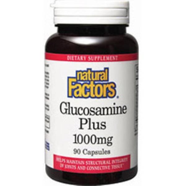 Natural Factors, Glucosamine Plus, 1000 mg, 90 Capsules (Discontinued Item)