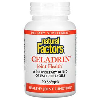 Natural Factors, Celadrin, لصحة المفاصل, 90 كبسولة هلامية