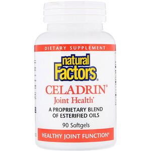 Натурал Факторс, Celadrin, Joint Health, 90 Softgels отзывы