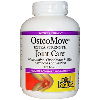 Natural Factors, OsteoMove, Extra Strength Joint Care, 120 Tablets