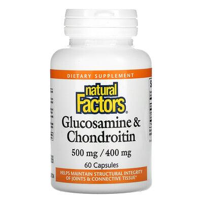 Natural Factors Glucosamine & Chondroitin, 60 Capsules