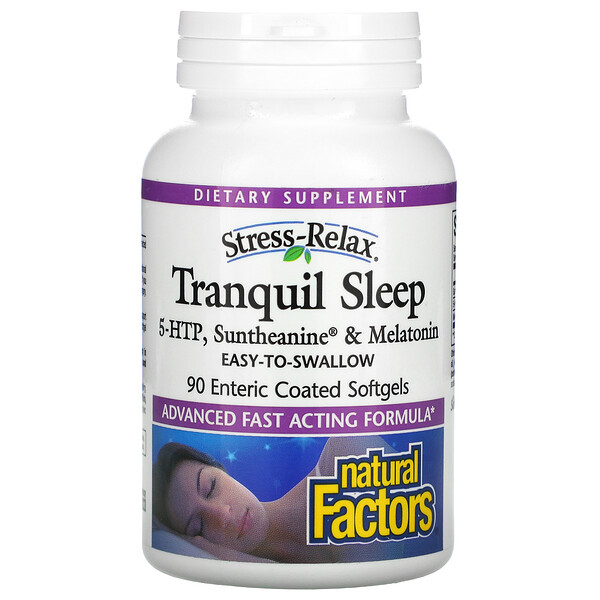 Stress-Relax, Tranquil Sleep, 90 Enteric Coated Softgels