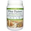 Natural Factors, Whey Factors, 100% Natural Whey Protein, Matcha Green Tea, 12 oz (340 g)