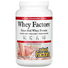 Natural Factors, Whey Factors, Grass Fed Whey Protein, Natural Strawberry, 2 lb (907 g)